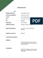 Curriculum Vitae Julio Rogelio Cac Caal
