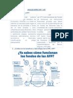 Analisis Entre Onp y Afp