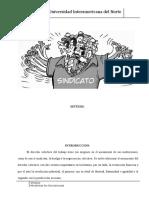 DERECHO DEL TRABAJO II SEMANA 1, SINTESIS.doc