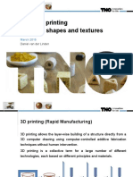 3d Food Printing March 2015