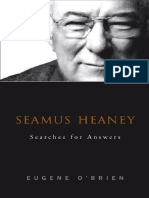 Seamus Heaney Searches for Answers