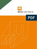 MPrint User Manual En