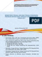 Rekrutment TA PID P3MD