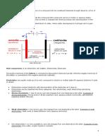 Electrolysis Week 11