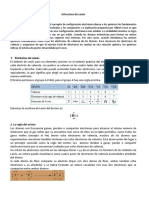 Estructura De Lewis Enlace Químico Moléculas