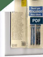Lyon, David - Posmodernidad (El Malestar en La Modernidad)