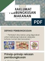 Maklumat Pembungkusan Makanan
