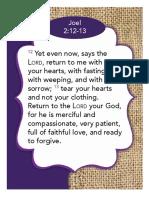 Bible Verse Signage