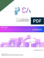 El urbanismo en el análisis del contexto
