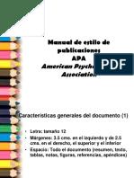 reglas para documentos en formato pa