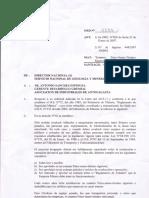 Resolución Sernageomin Nacional 2007