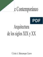 Arquitectura s.xix Xx