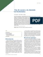 01 - Vías de Acceso a La Charnela Cervicotorácica
