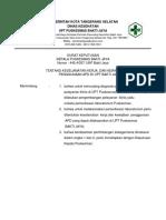 8.1.2.7 Sk Keselamatan Kerja, Dan Kewajiban Penggunaan APD
