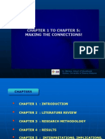 Chapter 1 to Chapter 5Making the Connections