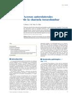 03 - Accesos Anterolaterales de La Charnela Toracolumbar