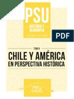 Historia y geografía 2 2017 - Chile y América en Perspectiva Histórica