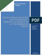 Manual de Evaluacion Para El Personal Academico y de Autoridades v2
