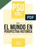 Historia y Geografía 4 2016 - El Mundo en Perspectiva Histórica