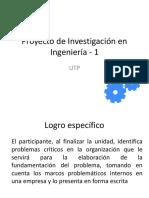 PPT Proyecto Investigación 1