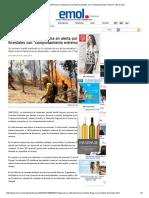 Valparaíso y Villa Alemana en Alerta Por Incendios Forestales Con _comportamiento Extremo_ _ Emol