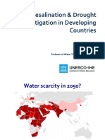 Presentation Maria Kennedy Desalination Drought Mitigation and Diplomacy 2017