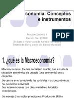 1 Macroeconomía I Introducción (1)