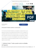 40 Secretos de HP