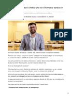 Lorand.biz-Guest Post Cristian Onetiu de Ce e Romania Saraca in Antreprenori