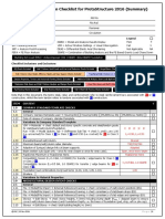 20161110 Fem Design Verification Checklist for Protastructure Summary