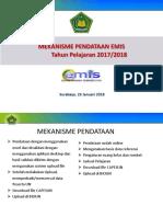 Pendataan EMIS - UN 2017-2018