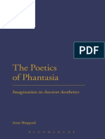 Anne Sheppard-The Poetics of Phantasia_ Imagination in Ancient Aesthetics-Bloomsbury Academic (2014)