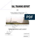 Thermal Plant Control Instrumentation II