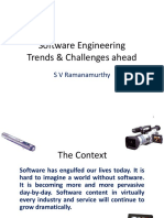 Software Engineering – Challenges Ahead
