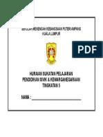 Cover Hsp Sivik Tingkatan 5 2018