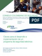 Claves Para El Desarrollo e Implementacion de Un Programa de Seguridad Electrica Patricio Llaneza