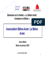 Association Acier-beton Le Beton Arme - Karim Miled