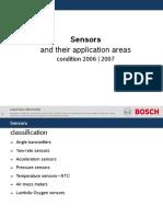 Sensors Application Areas