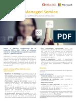 Folleto Servicio Gestionado Office 365