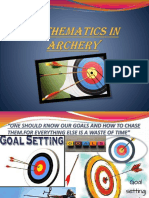 mathematics in archery ppt