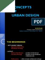 Concepts of Urban Design