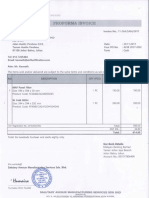 084 Perfoma Invoice Airflux Filtration