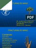 Fracturas de Mano