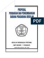 Proposal Sarana Prasarana Sekolah Terbaru.doc