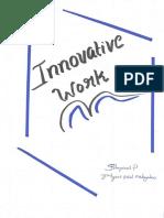 Innovative Work