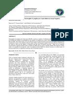 Diagnostic Usefulness of Neutrophil Lymp