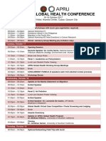 2017 APRU Global Health Agenda