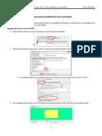 Como Publicar Un Proyecto