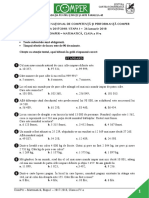 Subiect Comper Matematica EtapaI 2017 2018 ClasaIV