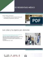 Residentado Medico en El Peru